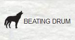 Beating Drum Label - artwork Piers Faccini