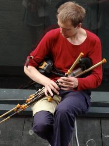 Musicien de rue - Dublin ©Christine Breuls