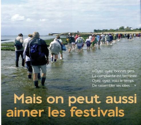 Festival Les Traversées de Tatihou © photo Christine Breuls